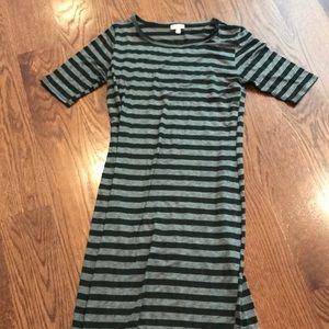 LuLaRoe Julia Dress. Size medium